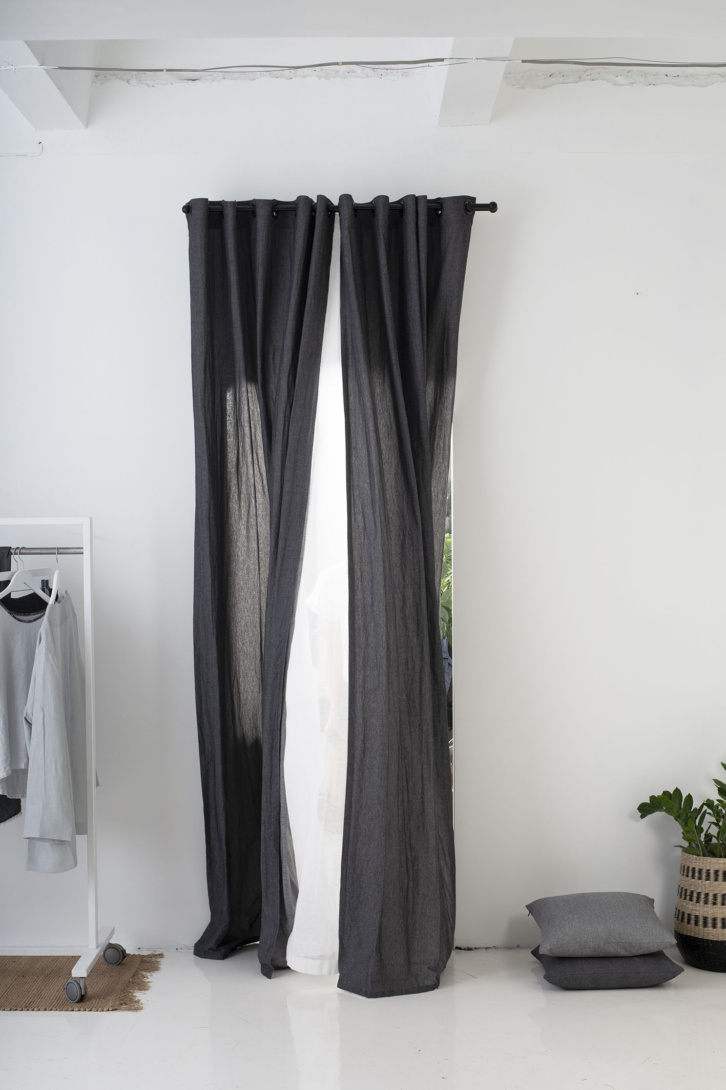 Grommet Curtains Window Curtains With Grommets Grommet Curtain Panels Dark Grey Curtains Eyelet Curtains Natural Window Treatments Grommet Curtains Panel Curtains Curtains