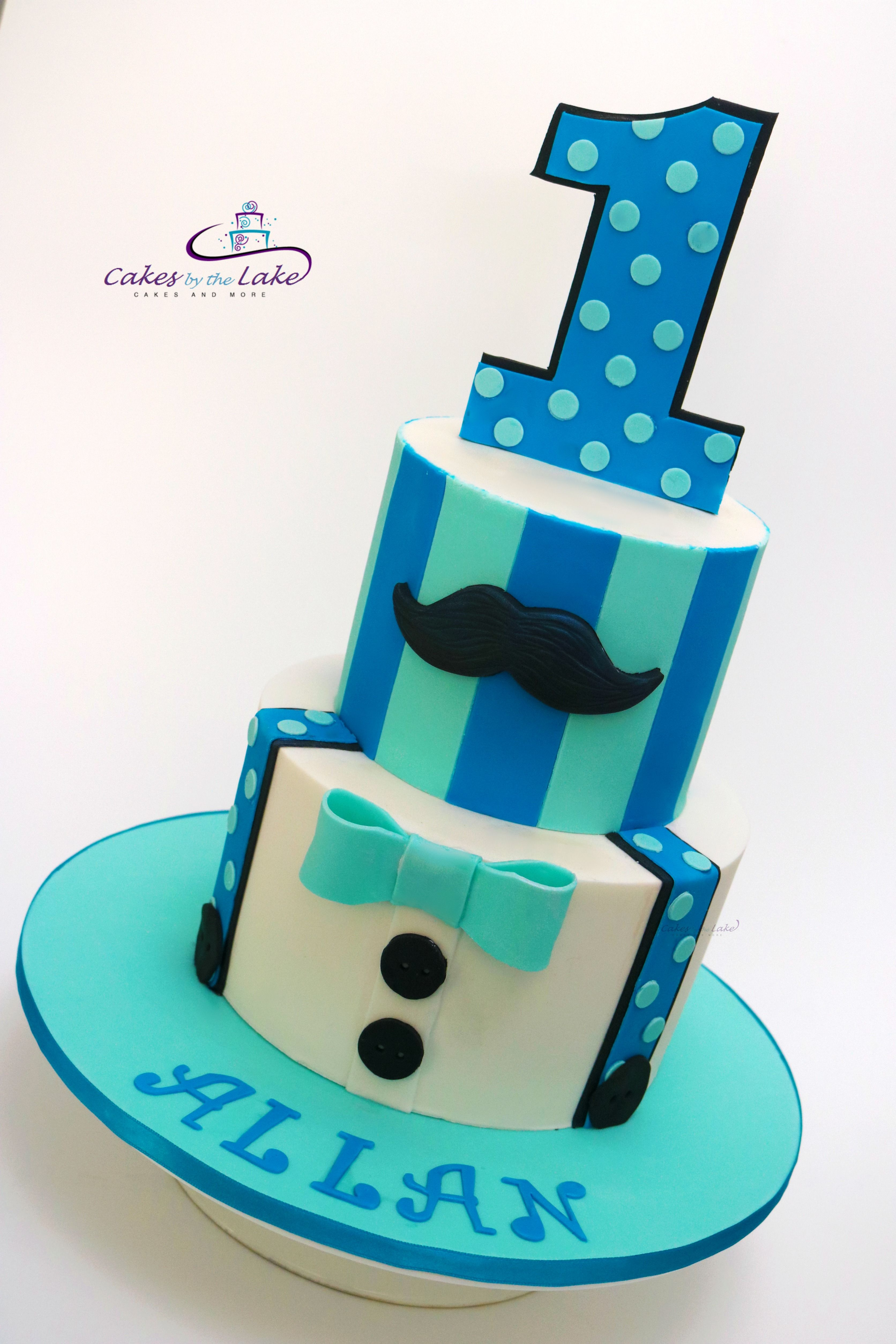 1st Birthday Boy Cake We Created This Colourful 1st