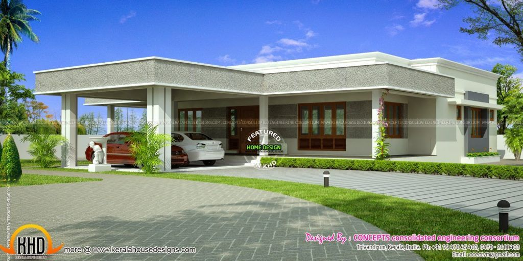 Modern Flat Roof House Plans Lovely Flat Roof House Plans Designs