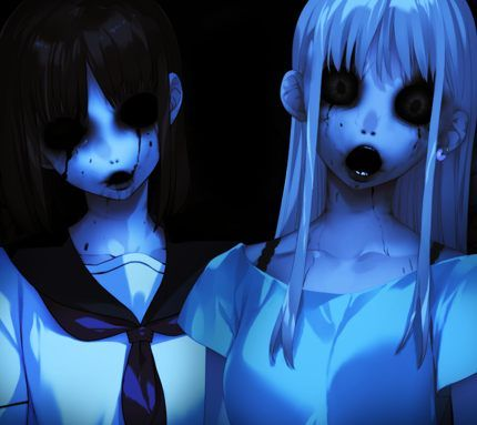 download horror anime girl wallpapers to your cell phone anime