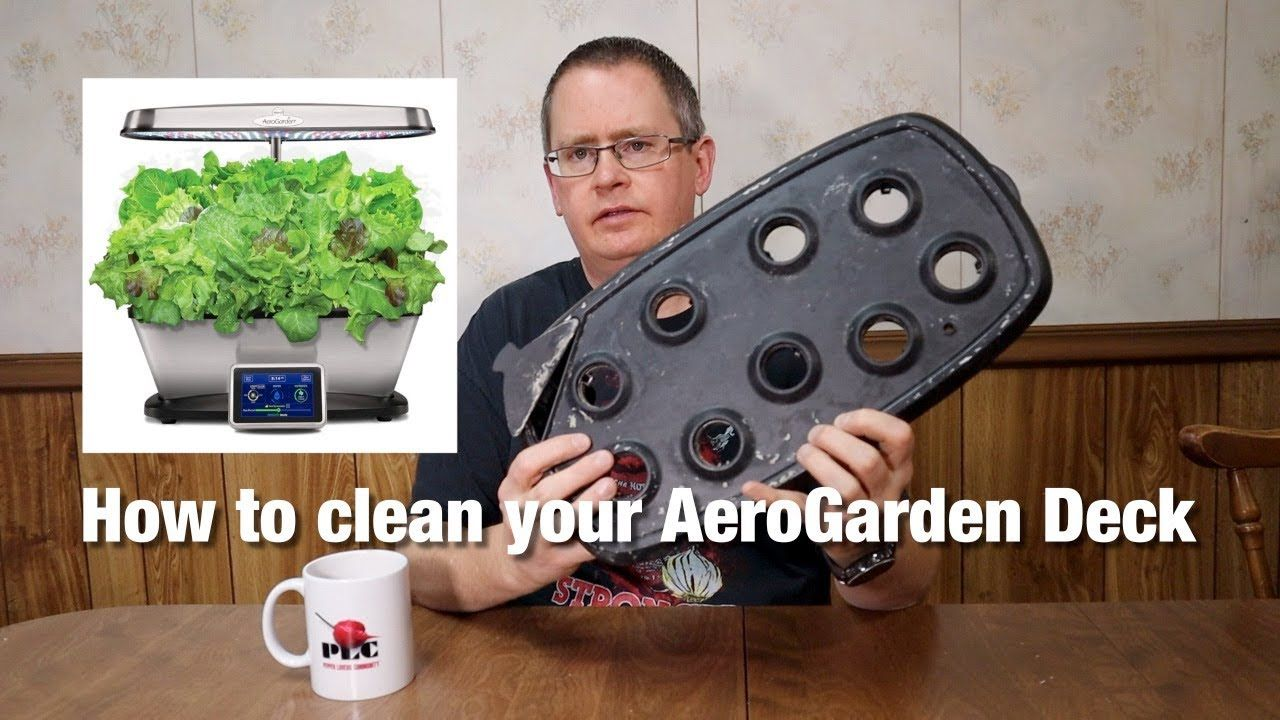 How To Clean Your Aerogarden Deck And Why It S Important 400 x 300