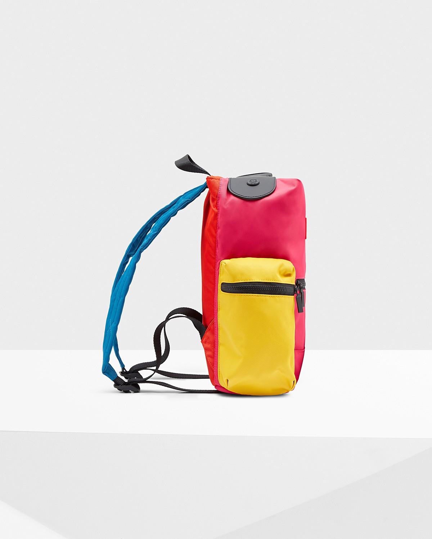 Hunter Original Color Block Mini Top Clip Backpack - One Hunter Original