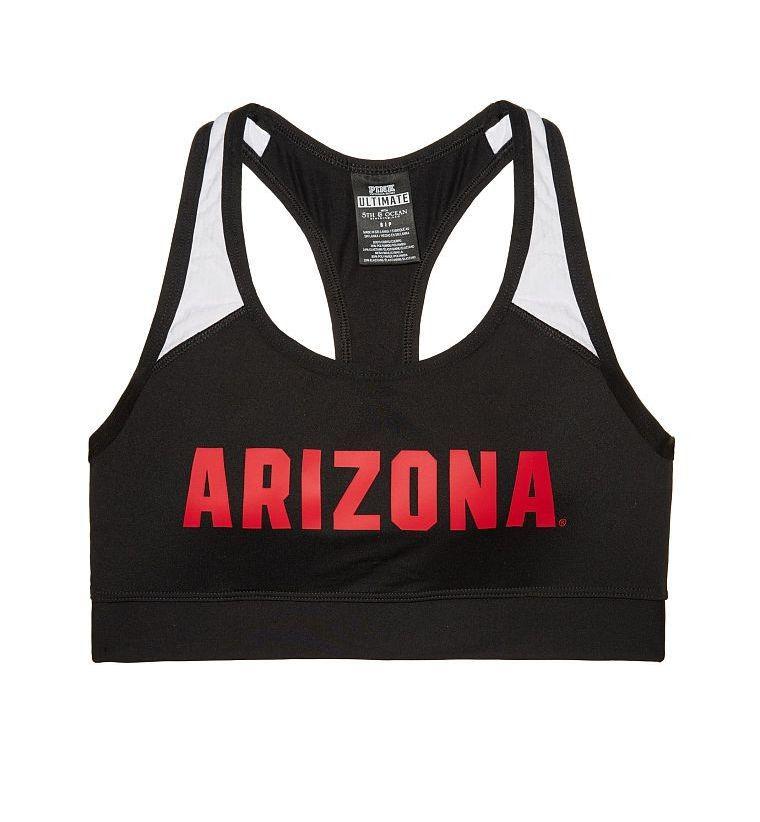 4f3038901fc83 Victoria s Secret Pink University of Arizona Sports Bra - Ultimate Racerback  - Collegiate Collection - Size S