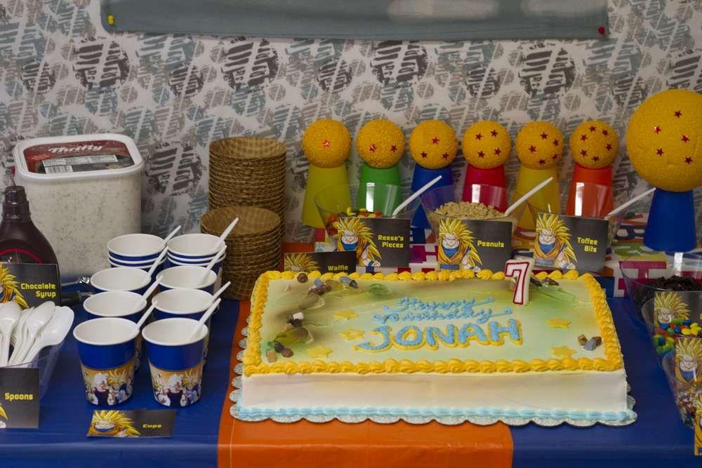 Birthday Party Ideas Dragon ball Birthdays and Birthday party ideas