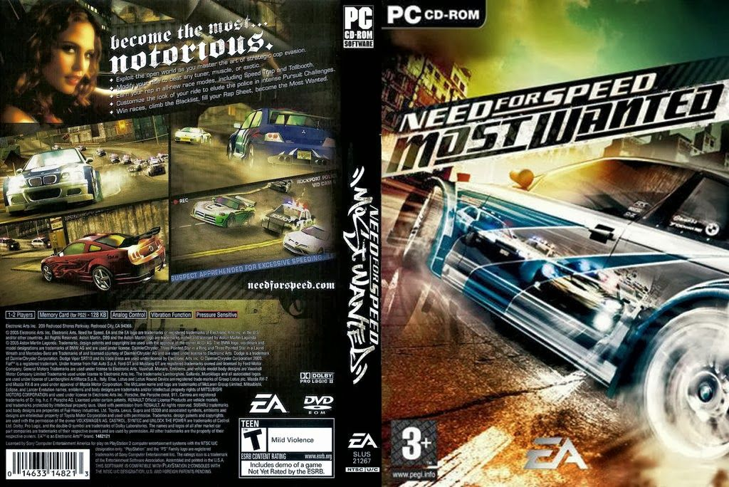 Need for Speed Most Wanted Highly Compressed Free Download