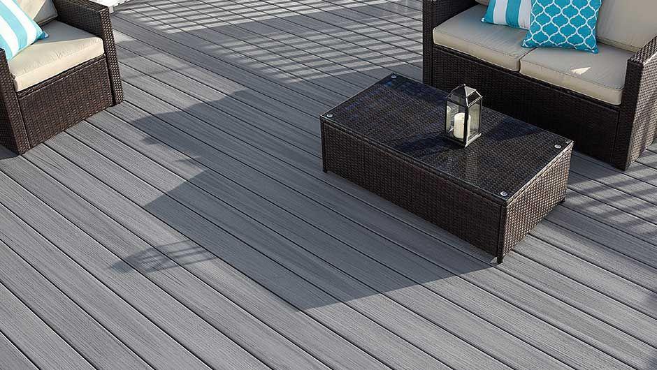 2x6 Pvc Fence And Wood Floor Deckingoptions For Waterproof Deck