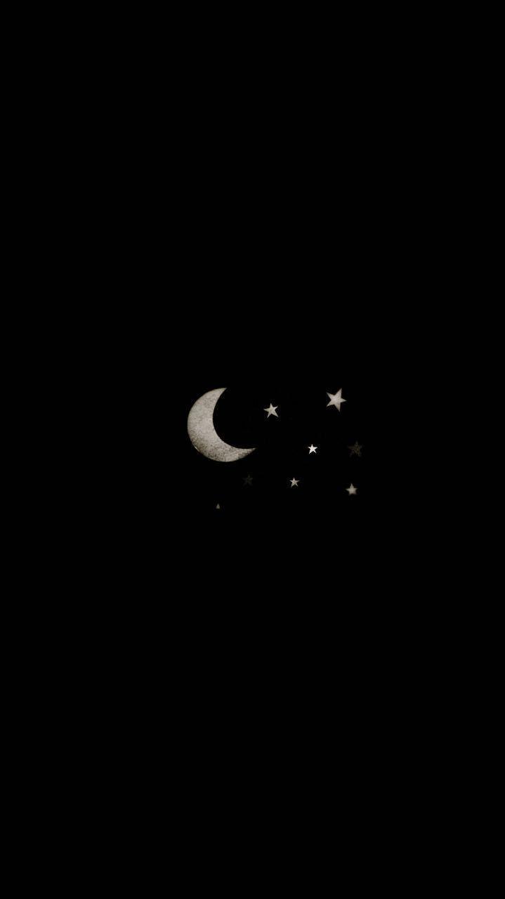 moon moon    moon     Black wallpaper iphone, Black wallpaper ...