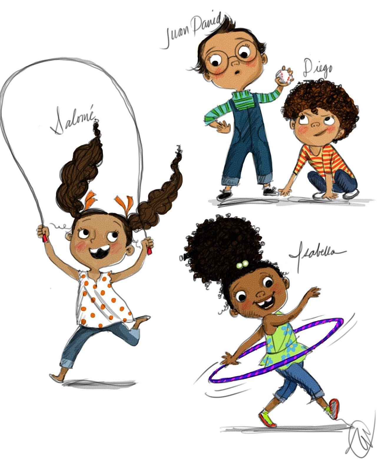 Ooh La La Design Studio Childrens Book Characters Book Illustration Art Character Design