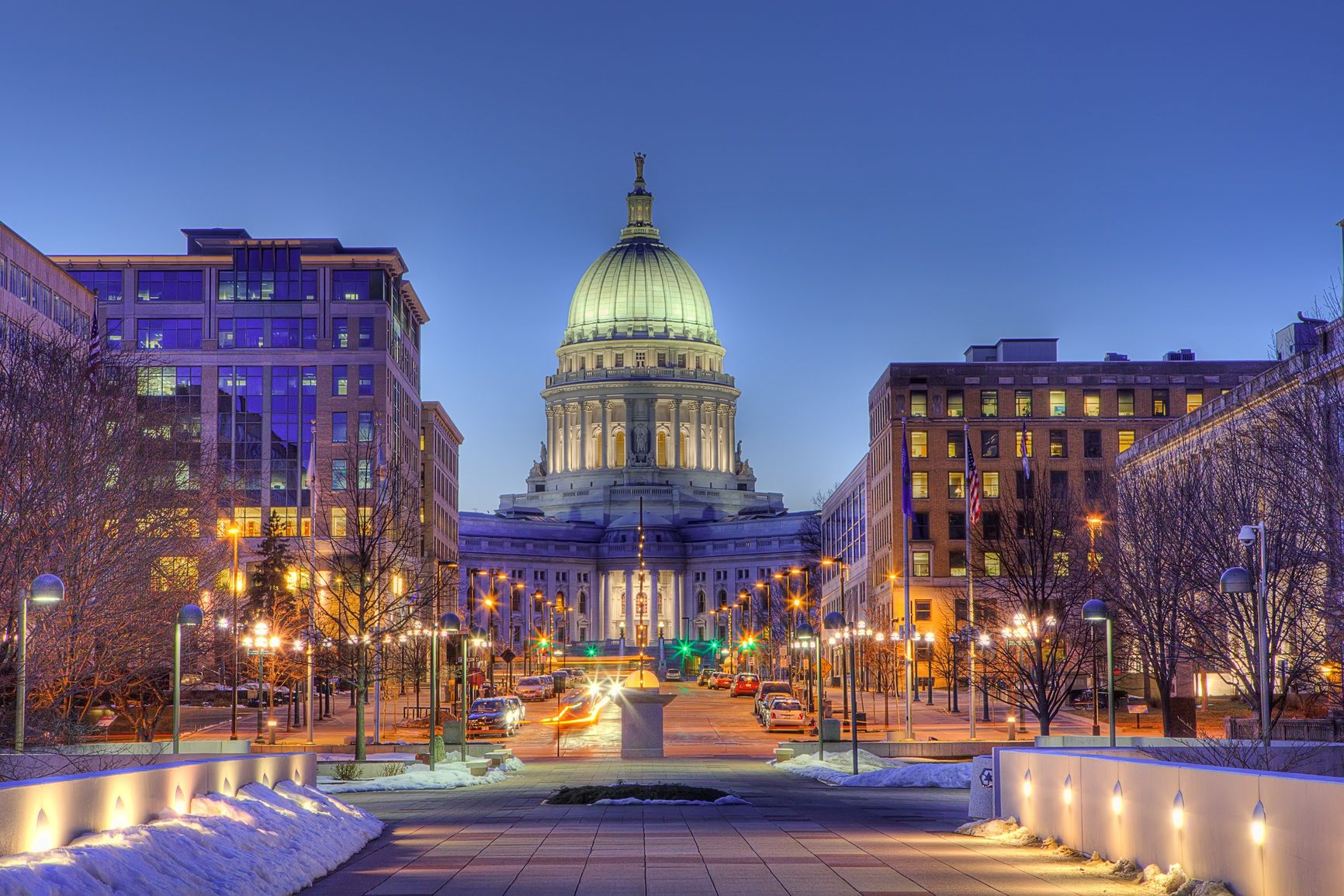 Madison, the capital city of Wisconsin, USA - Nations Online Project