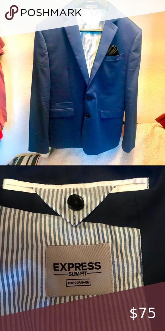 Men's suit jacket by Express