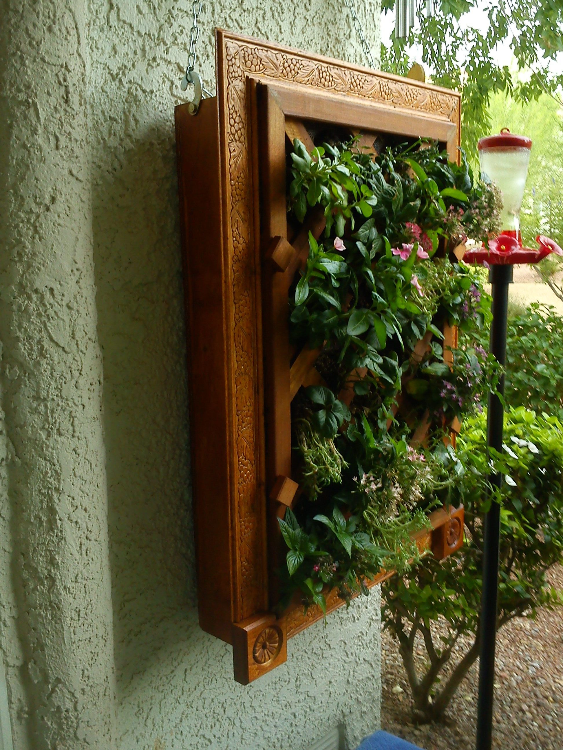 This Stunning Vertical Garden Box Was Built By Eugene Varcados A Home Fuse Member Of The
