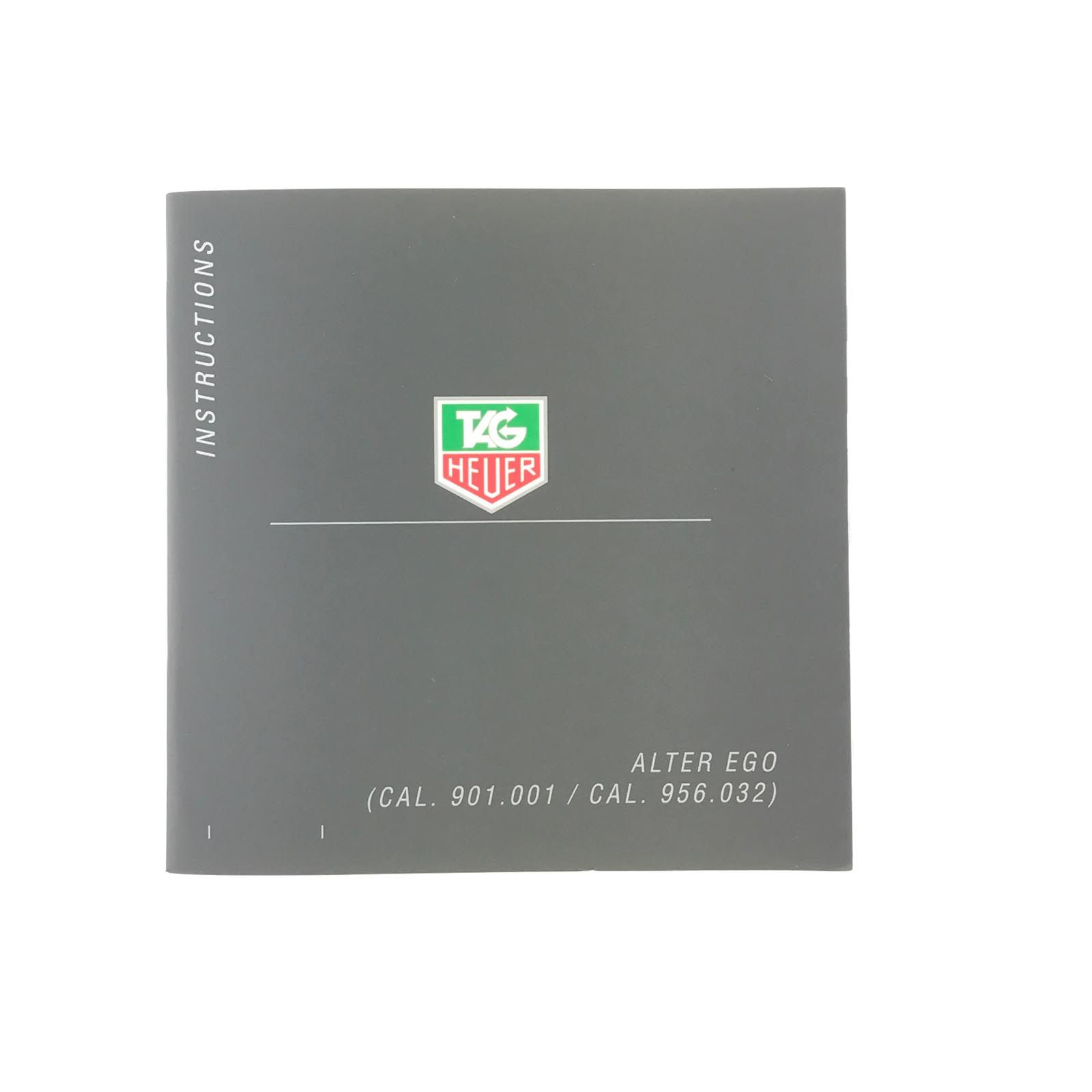 tag heuer alter ego calibre 907 001 956 032 instructions manual rh pinterest com tag heuer instruction manual calibre s tag heuer connected instruction manual