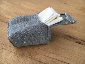 Paquet de mouchoirs zéro déchet