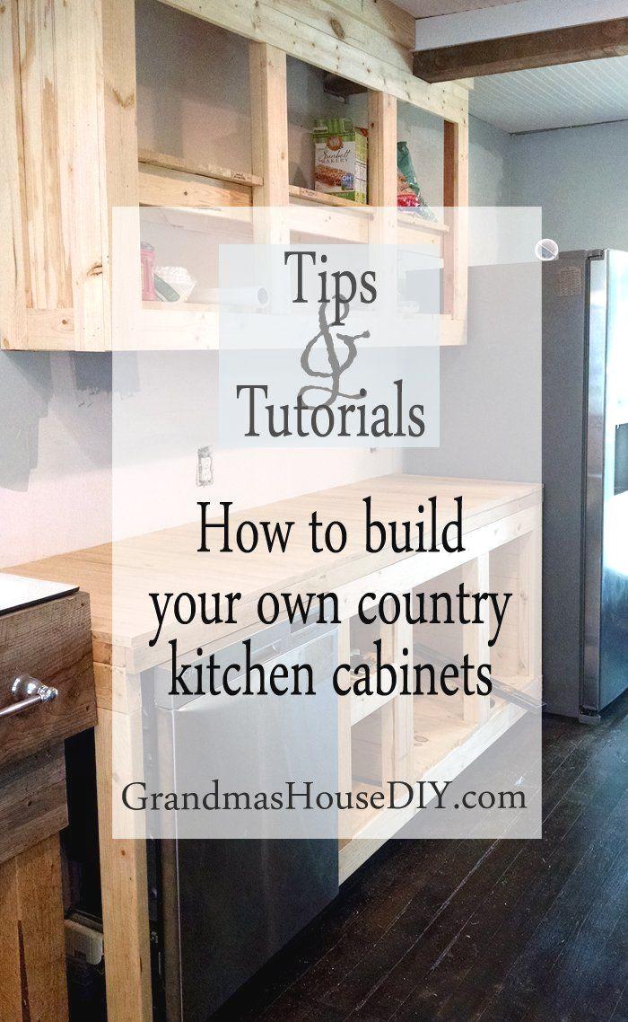 Creative DIY Kitchen Cabinets Plans