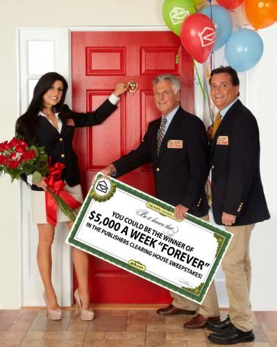 Publishers Clearing House Prize Patrol  (PRNewsFoto/Publishers