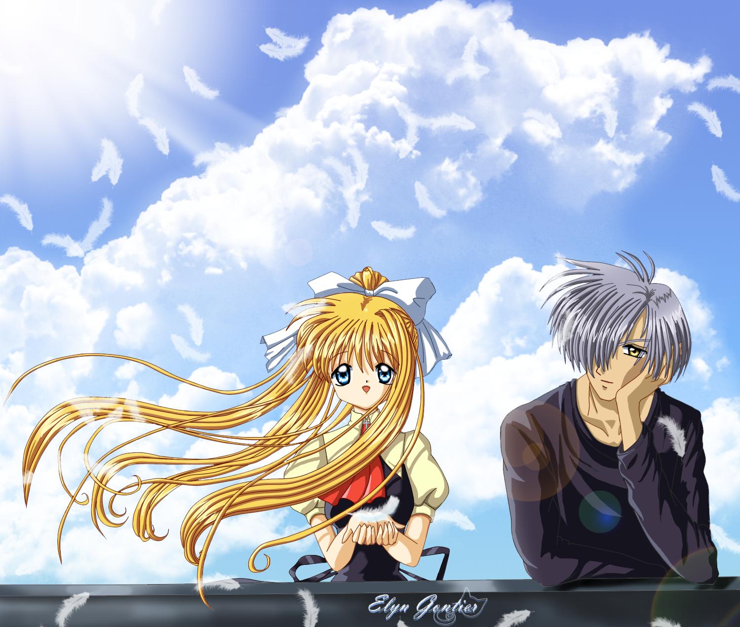 Gantz Yokai: Air Anime Yukito And Misuzu