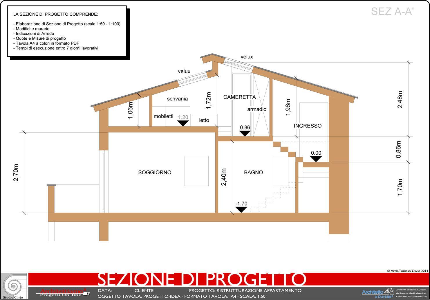 Progetto Appartamento 85 Mq esempi di disegni e progetti di ristrutturazione | casa ecc