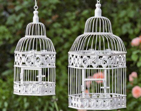 Deko-Vogelkäfig Vogelkäfig Antik Kolonialstil - H39cm: Amazon.de: Küche & Haushalt