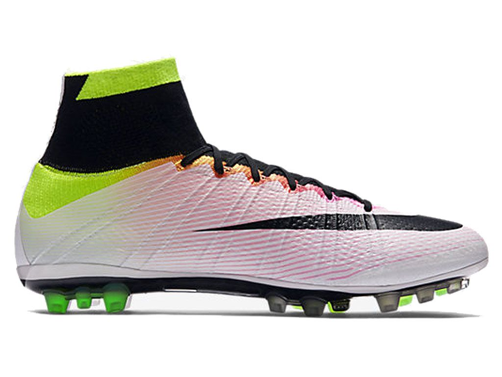 nike mercurial superfly ag r chaussures de football pas cher pour homme noir vert 717138 107. Black Bedroom Furniture Sets. Home Design Ideas