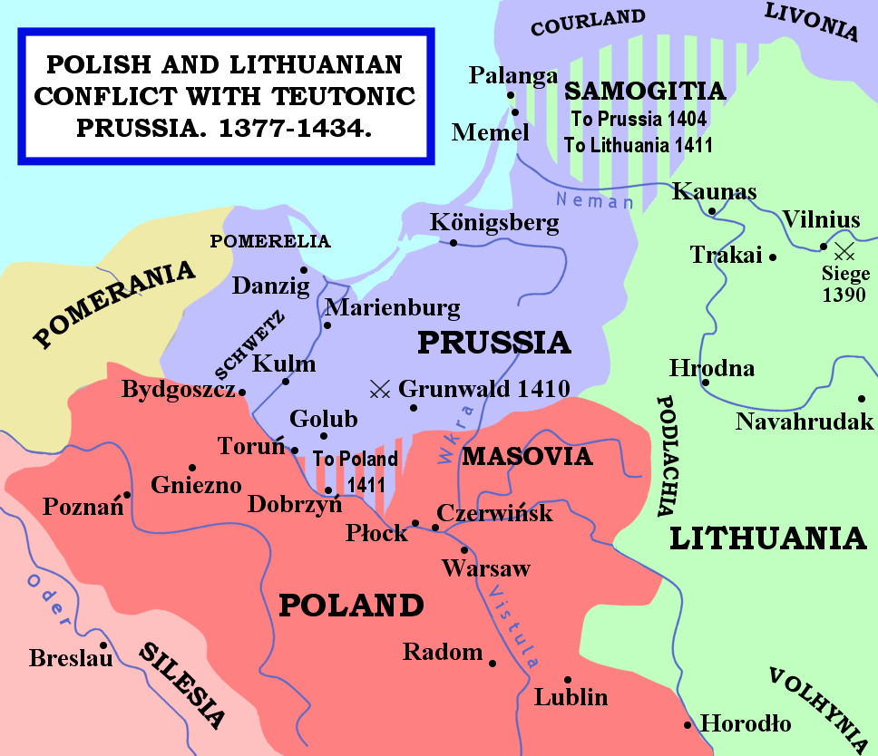 Prussia Poland Map Pin by JD Daemons on Medieval History | Prussia, European history, Map