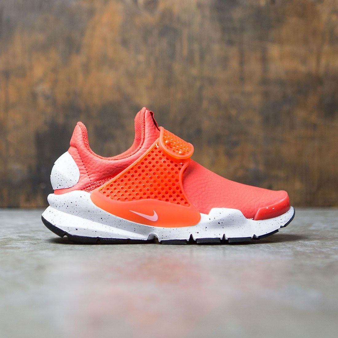 buy popular cc9ee e8e82 Nike Women Wmns Nike Sock Dart Prm (max orange / white-black ...