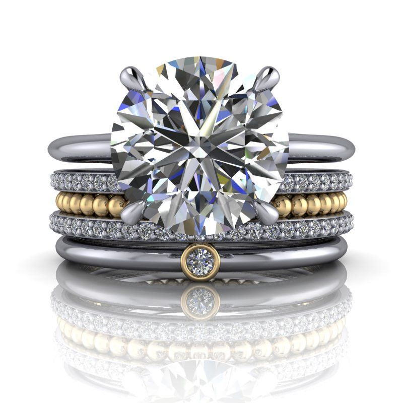 Best platinum engagement ring settings engagement rings