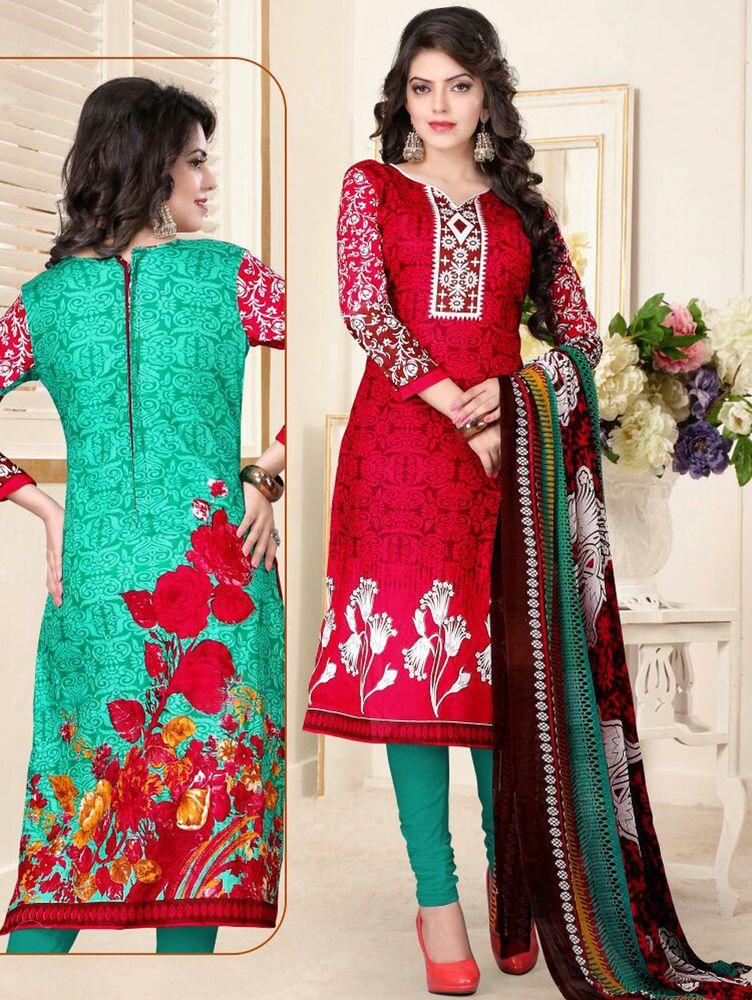 Ethnic New Salwar Pakistani Kameez Designer Suit Bollywood Indian ...