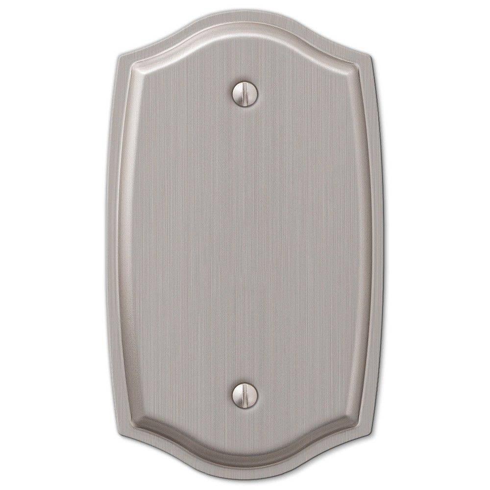 Amerelle Sonoma Single Blank Wall Plate Decorative Outlet