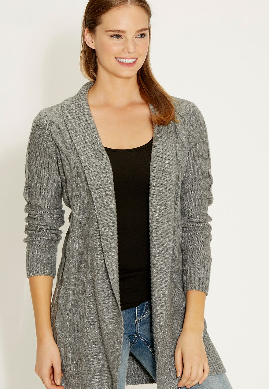 ultra soft cable knit cardigan - maurices.com   Update Wardrobe ...