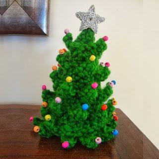 Patrones Amigurumi: Árbol de Navidad