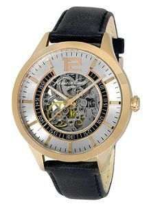 6383e6ae9ba Kenneth Cole New York Automatic Black Leather Men s watch  KC8078   Dress  watch