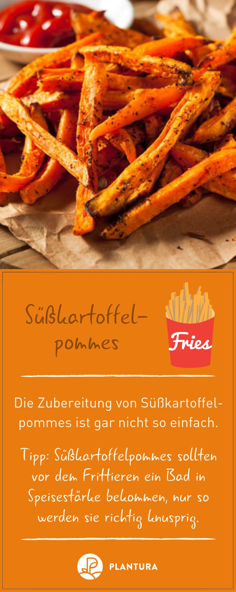 Süßkartoffel Rezepte: Pommes, Püree, Suppe & Auflauf #pommesselbermachenofen