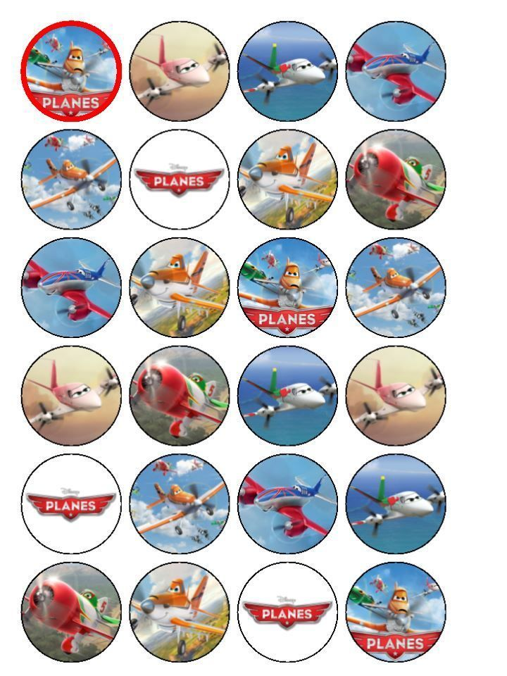 Cupcake toppers | Free printables cupcakes | Cupcake toppers, Planes ...