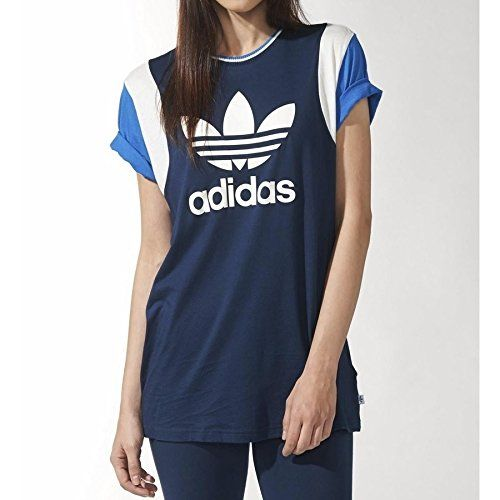 adidas shirt blau