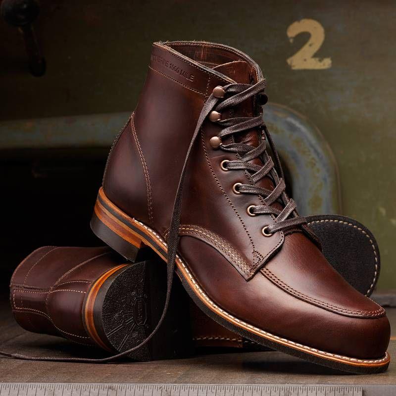 efbd4f56f9b WOLVERINE W00278 Men's Courtland 1000 Mile Boot - Brown | Wolverine ...