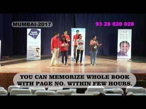 Demo After Dharmesh Pithva's memory Training By Ayushi Shah Mumbai 2017