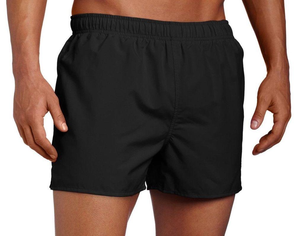 ec19d227ffe45 Speedo Active Surf Runner Volley Swim Trunks Large Black 7320256 #Speedo # swim #Trunks