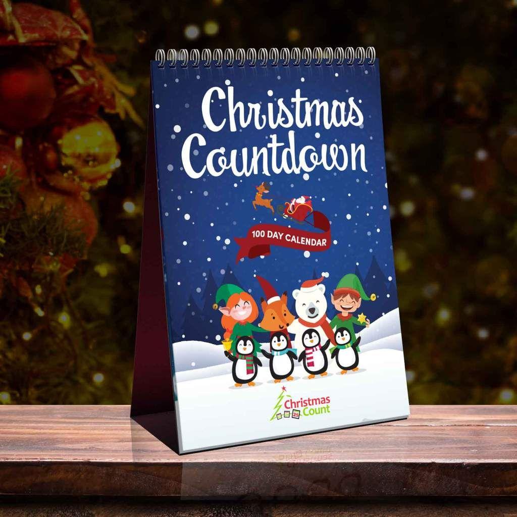 100 Day Christmas Countdown Calendar 2020 Christmas Countdown Calendar Christmas Countdown Countdown Calendar