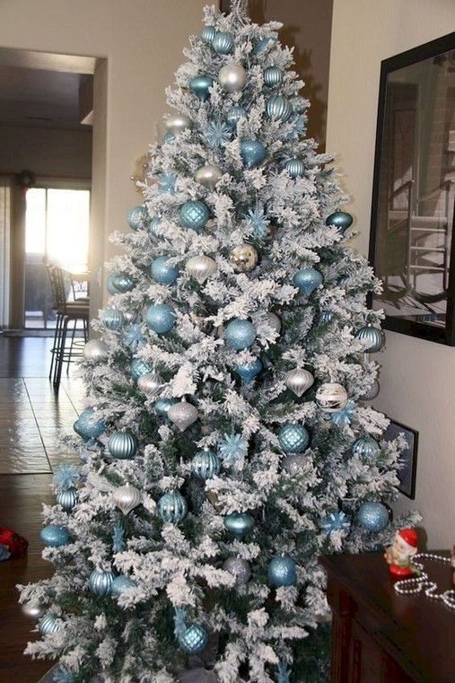Luxury Christmas Tree Decorating Ideas 00 00015 Blue Christmas Decor Blue Christmas Tree Decorations