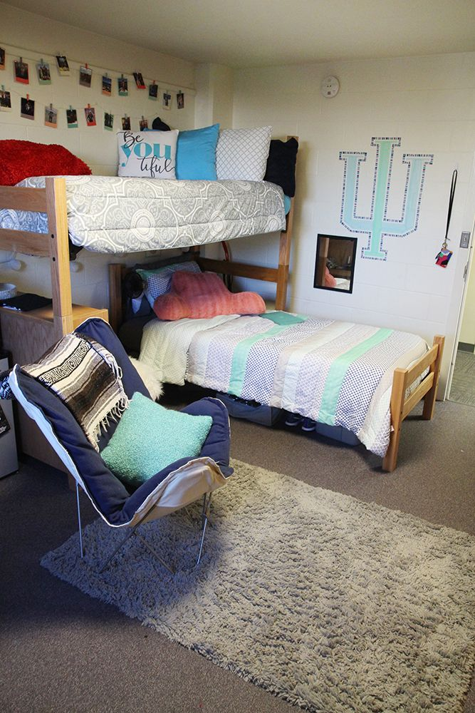 Dorm Room Loft Beds: Pin By Indiana University Residential On Teter Residence