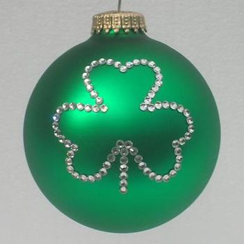 Irish Shamrock Ornament Christmas Tree Ornaments With Shamrocks Irish Christmas Christmas Gift Decorations Christmas Ornaments