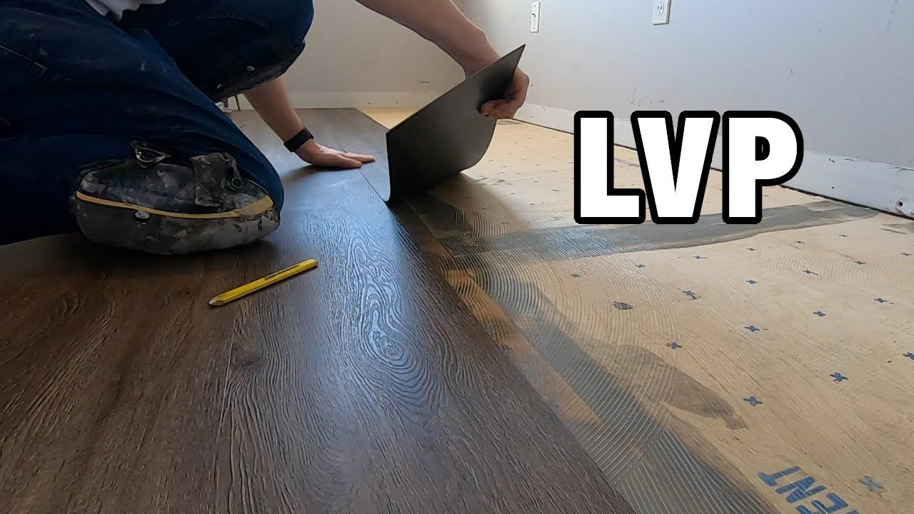 How to Install Glue Down Luxury Vinyl Plank Flooring on