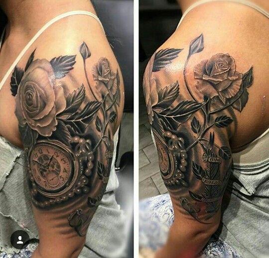 Girly Tattoo Roses Tattoos For Women Girly Sleeve Tattoo Girly Tattoos