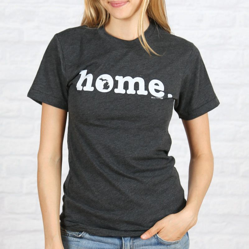 The Michigan   Home O-Concept t-shirt is simple and unique. It