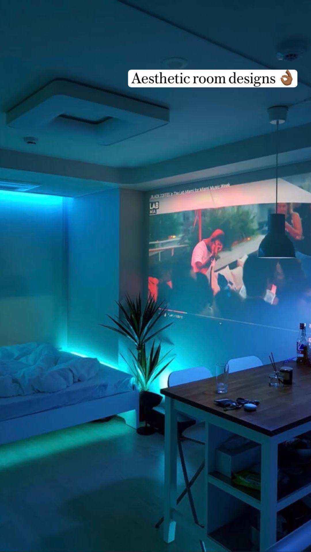 Aesthetic Bedroom & Desksetup inspo.