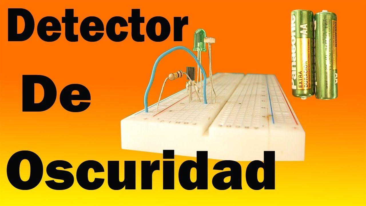 Circuito Sencillo : Cómo hacer un detector de oscuridad muy fácil de hacer