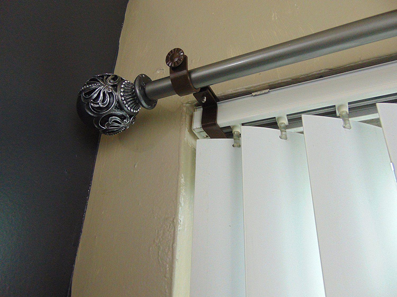 Amazon Com Nono Bracket Inside Mounted Blinds Curtain Rod