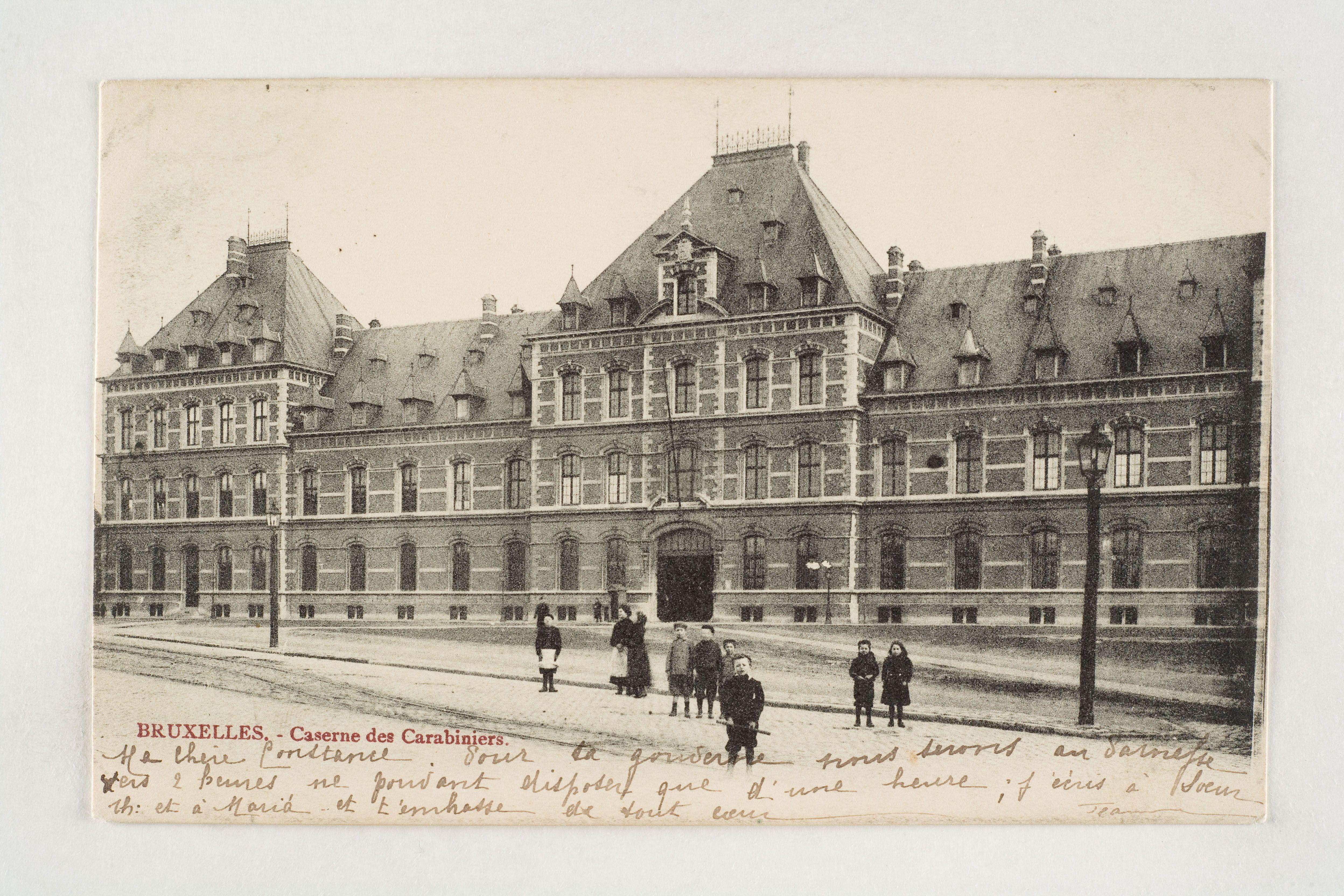 Daillyplein  Schaarbeek- Place Dailly Schaerbeek (Verz. Belfius Bank – Académie royale de Belgique © ARB- MBHG) Heb je zelf foto's uit de oude doos? Pin ze met #mastuvu.