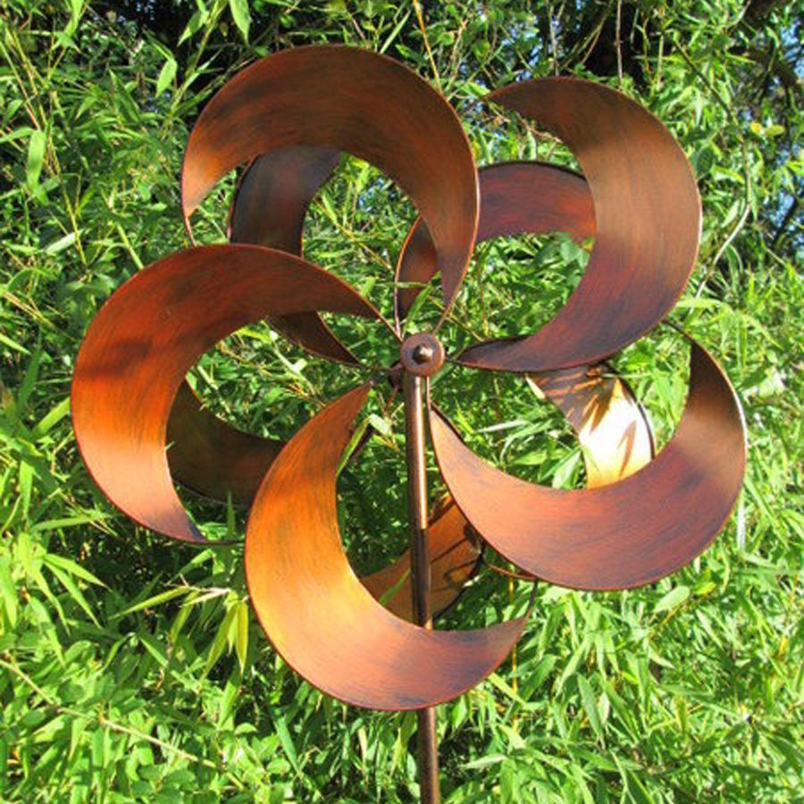 RHS Tatton Wind Spinner in Polished Copper spinners Pinterest