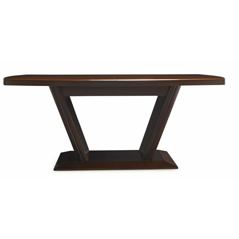 Casana Brooke Rectangular Pedestal Dining Table Cn 216 154k
